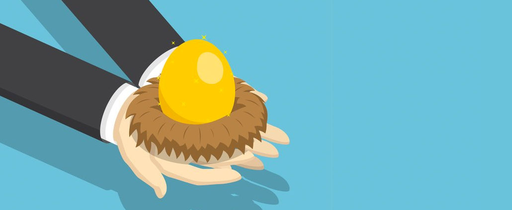 An Image Of A Person Holding A Golden Egg In A Nest Put On By Secure Money Advisors In Pittsburgh
